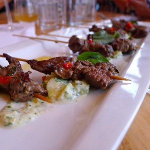 Beef Skewers at The Kitchen [Upstairs]