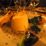 Tuna Panna Cotta, Smokey Potato Salad, Kale, Hearth Baked Bread: Kelly Whitaker